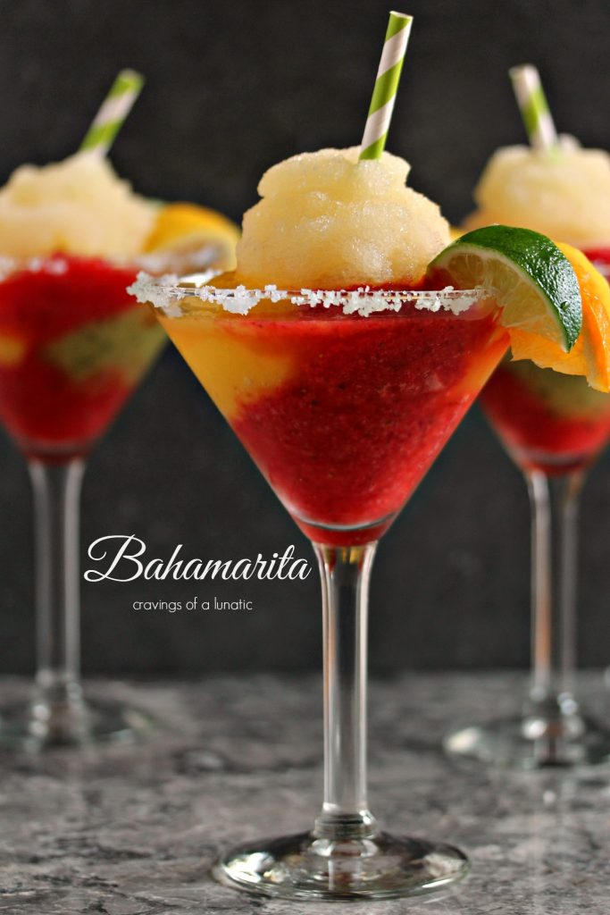 Frozen Bahamarita {Cravings of a Lunatic}