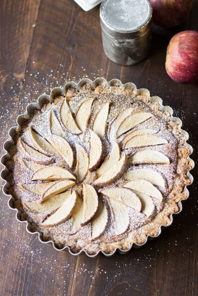 Easy Apple Tart {Lemons for Lulu}