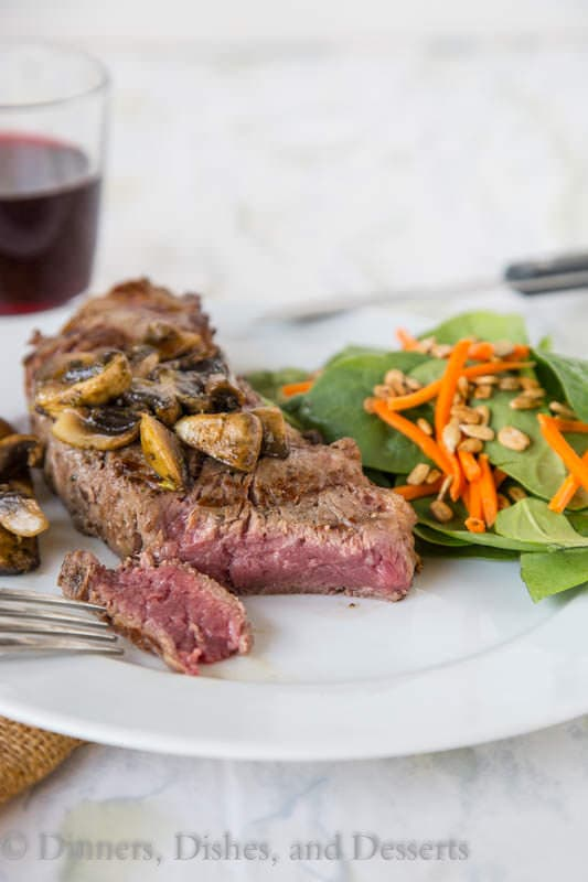 Perfect Grilled Steak {Dinners, Dishes, and Desserts}