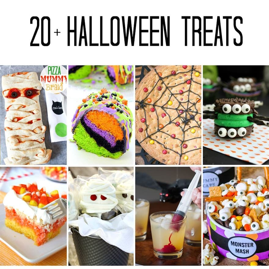 20+ Fun Halloween Recipes - a great round up of over 20 fun Halloween ...