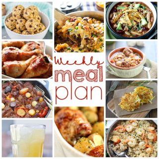 Weekly Meal Plan Week 13
