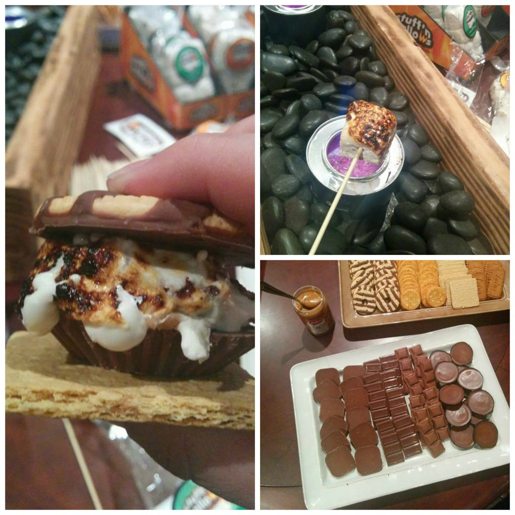 Stuffin' Mallows S'mores Bar