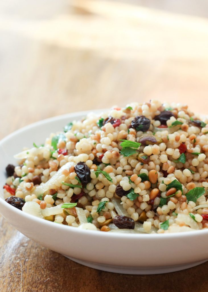 Israeli Couscous {Barefeet in the Kitchen}