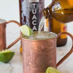 TUACA® Mule - A fun twist on the classic Moscow Mule! A citrusy vanilla liqueur adds tons of great flavor to a classic cocktail.