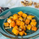 Roasted Butternut Squash with Sage and Walnuts