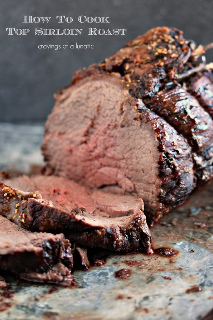 Sirloin Roast {Cravings of a Lunatic}