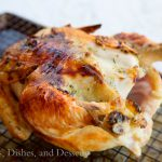 Easy Roast Chicken {Dinners, Dishes, and Desserts}