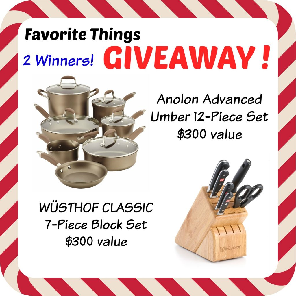 May Favorite Things Giveaway!