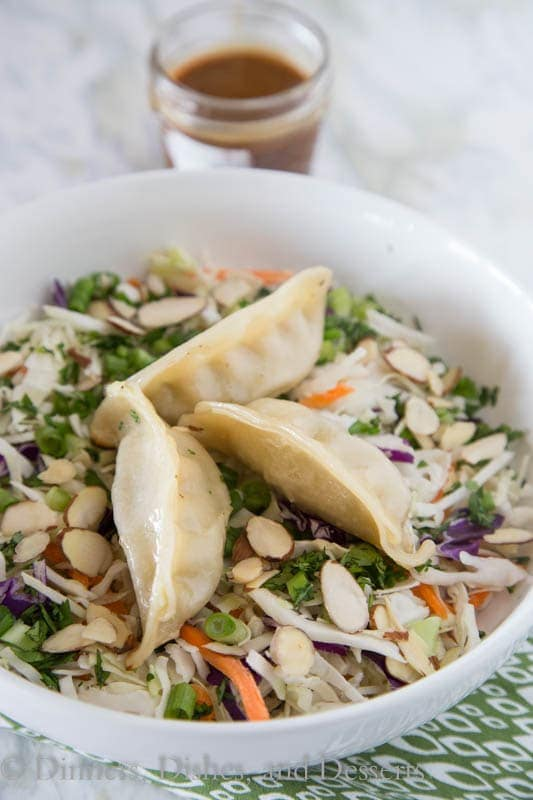 Potstickers Asian Chopped Salad