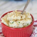 Garlicky Crock Pot Mashed Potatoes