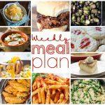Weekly Meal Plan Week 17