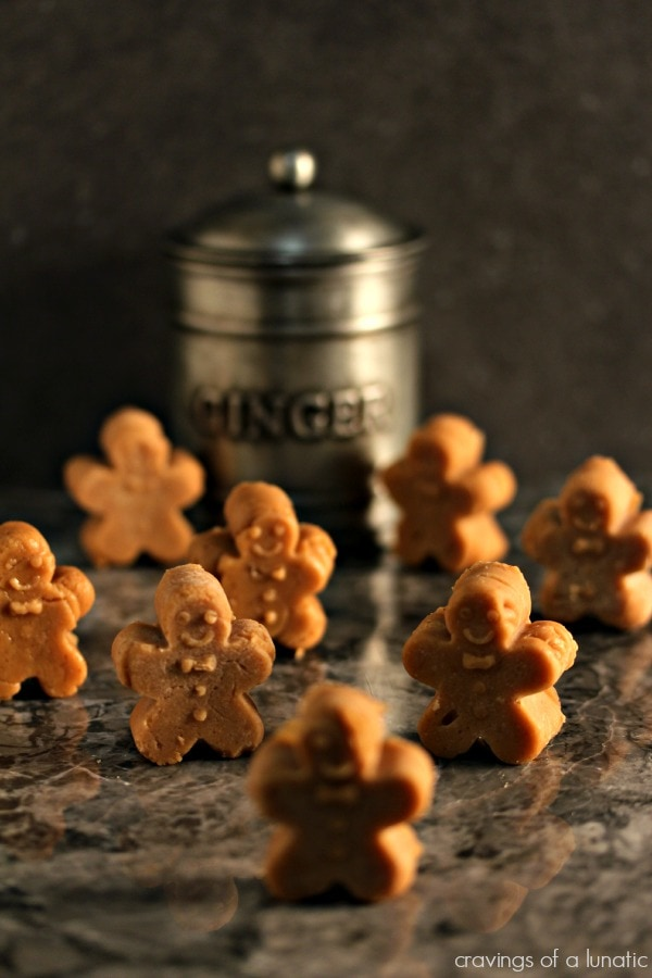 Gingerbread Fudge {Cravings of a Lunatic}