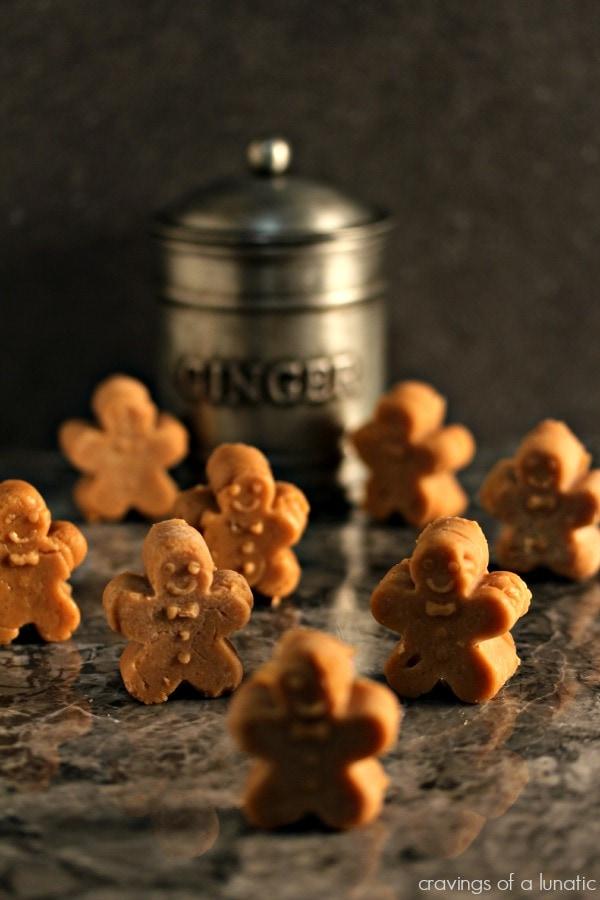 Gingerbread Fudge {Cravings of a Lunatic}