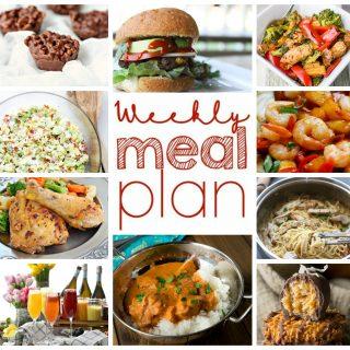 Weekly Meal Plan Week 24