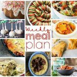 Weekly Meal Plan Week 22