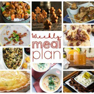 Weekly Meal Plan Week 23