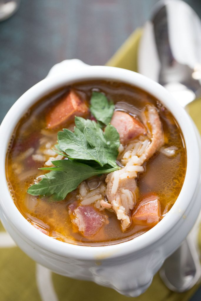 Red Beans and Rice Soup {Lemons for Lulu}