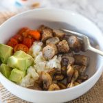 Breakfast Bowls with Chicken Sausage & Egg Whites