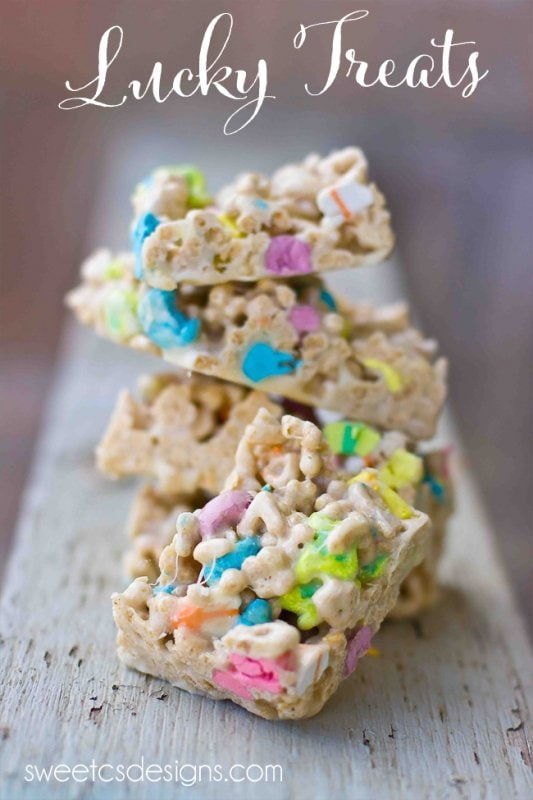 Lucky Charms Treats {Sweet C's Designs}