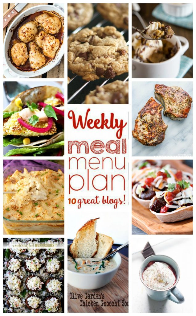Weekly Meal Plan February 7 February 13 Wishes And Dishes
