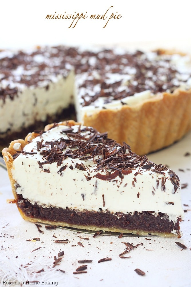 Mississippi Mud Pie {Roxana's Home Baking}