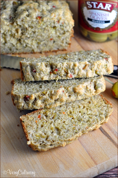 Olive Quick Bread {Very Culinary}