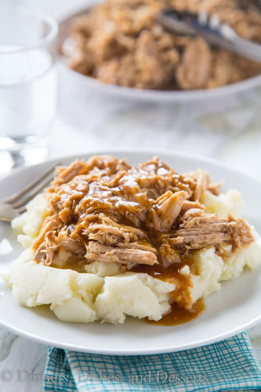 Slow Cooker Pork Roast {Dinners, Dishes, and Desserts}