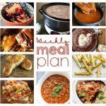 Weekly Meal Plan Week 32