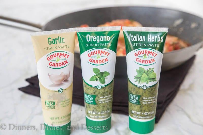 gormet garden seasoning tubes
