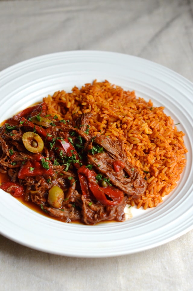 Easy Cuban Style Ropa Vieja {Always Order Dessert}