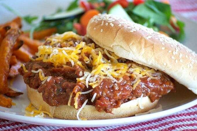Slow Cooker Sloppy Joes {365 Day of Baking and MOre}