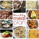 Weekly Meal Plan Week 34