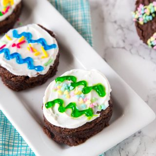 Brownie Easter Eggs