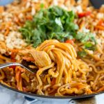 Spicy Thai Noodles with Chicken