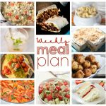 Weekly Meal Plan Week 36