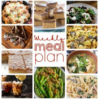 Weekly Meal Plan Week 37