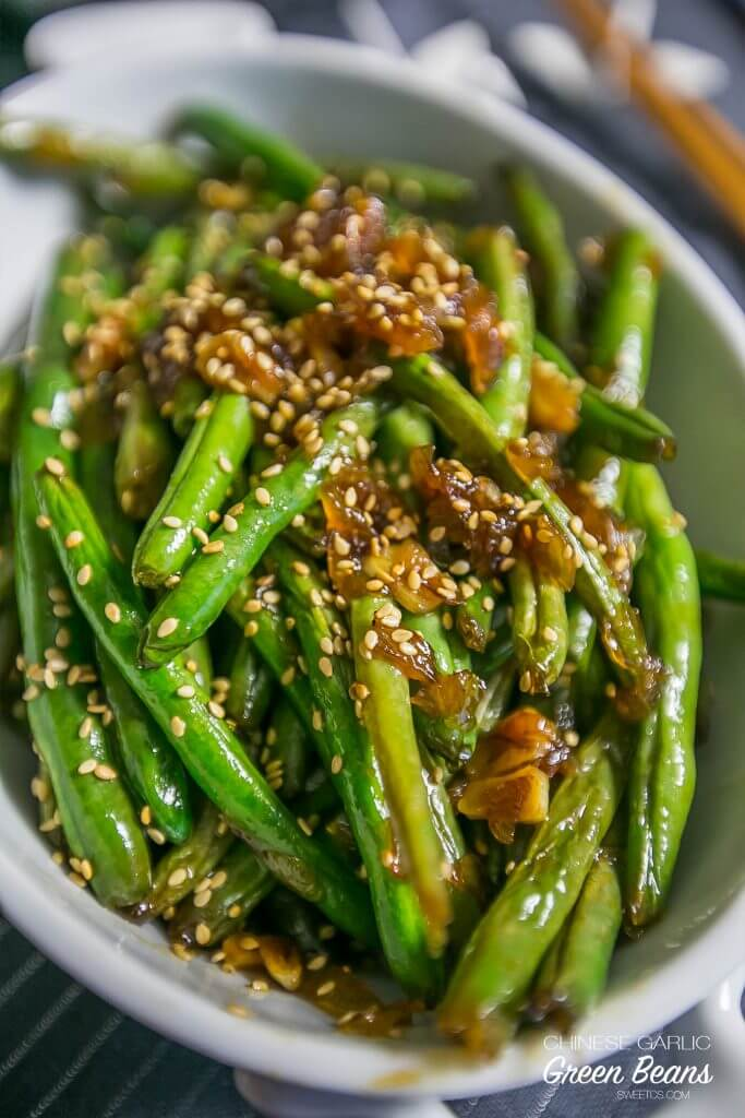 Chinese Garlic Green Beans {Sweet C's Designs}