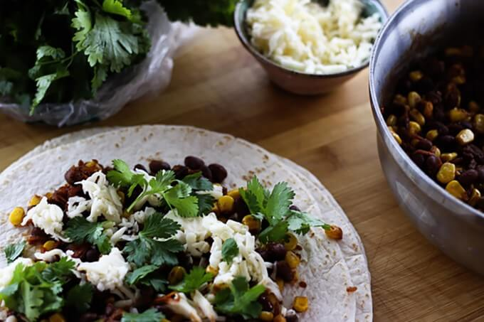 Black Bean and Corn Tacos {Foodie with Family}