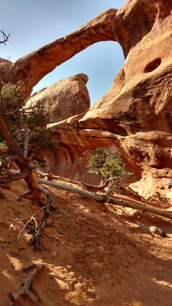 Arches National Monument - a stop on our road trip from Colorado to Phoenix