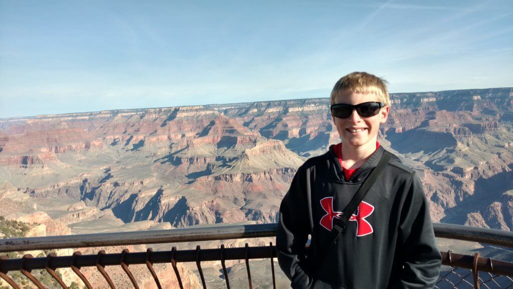 Grand Canyon National Park - a stop on our road trip from Colorado to Phoenix