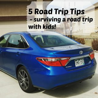 5 Tips for surviving a road trip with kids - 5 road trip tips to make your road trip a success, even with kids!
