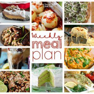 Weekly Meal Plan Week 41