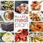Weekly Meal Plan Week 40