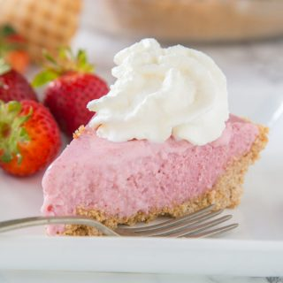 Strawberry Milkshake Pie