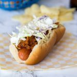 Barbecue Pulled Pork Hot Dogs