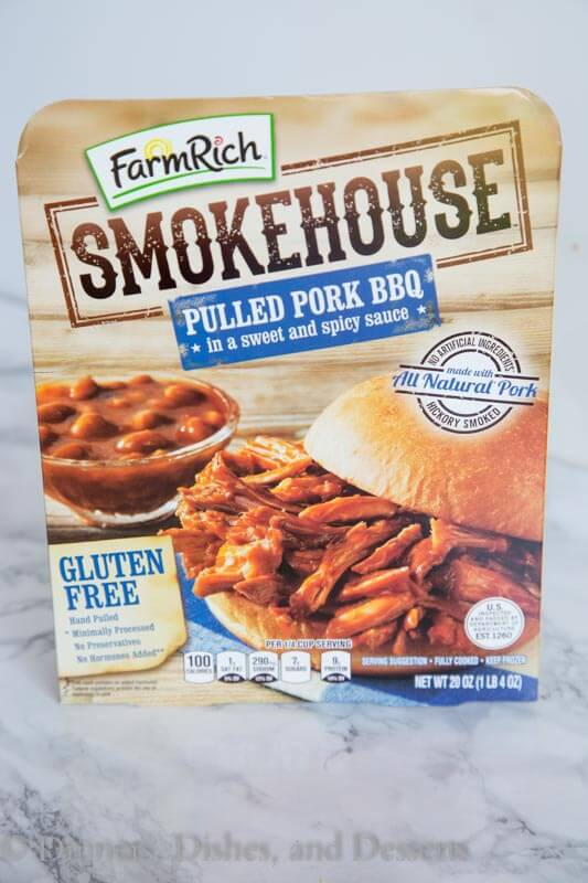 smokehouse pulled pork barbecue package