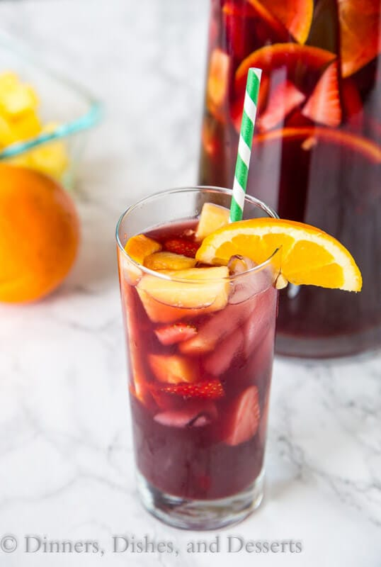 easy sangria in a cup