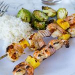 Grilled Teriyaki Shrimp Kebobs