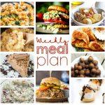 Weekly Meal Plan Week 45