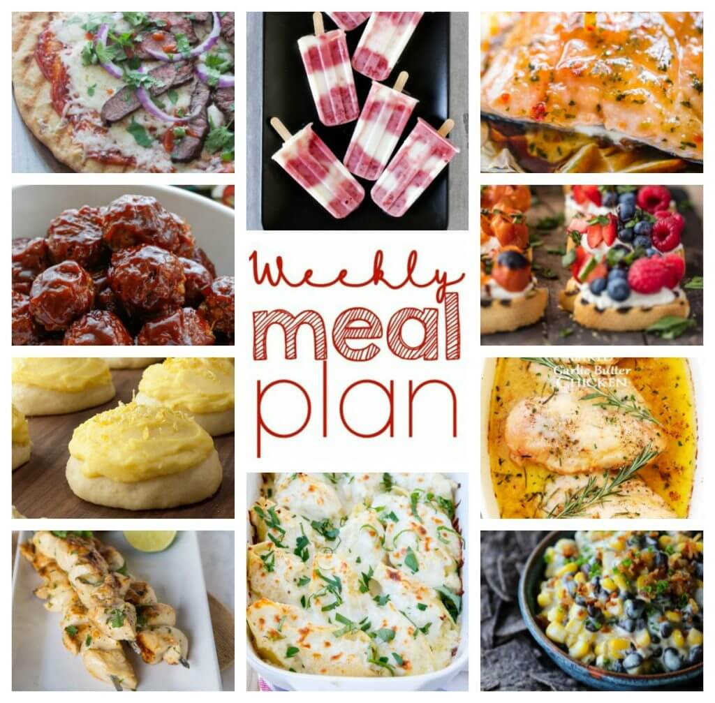 Weekly Meal Plan Week 44 - 10 great bloggers bringing you a full week of recipes including dinner, sides</p></noscript><div id=